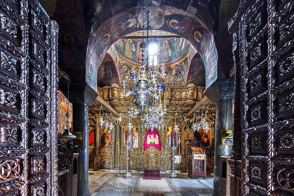 The Monastery of Saint John the Theologian,The Main Church Patmos, Greece