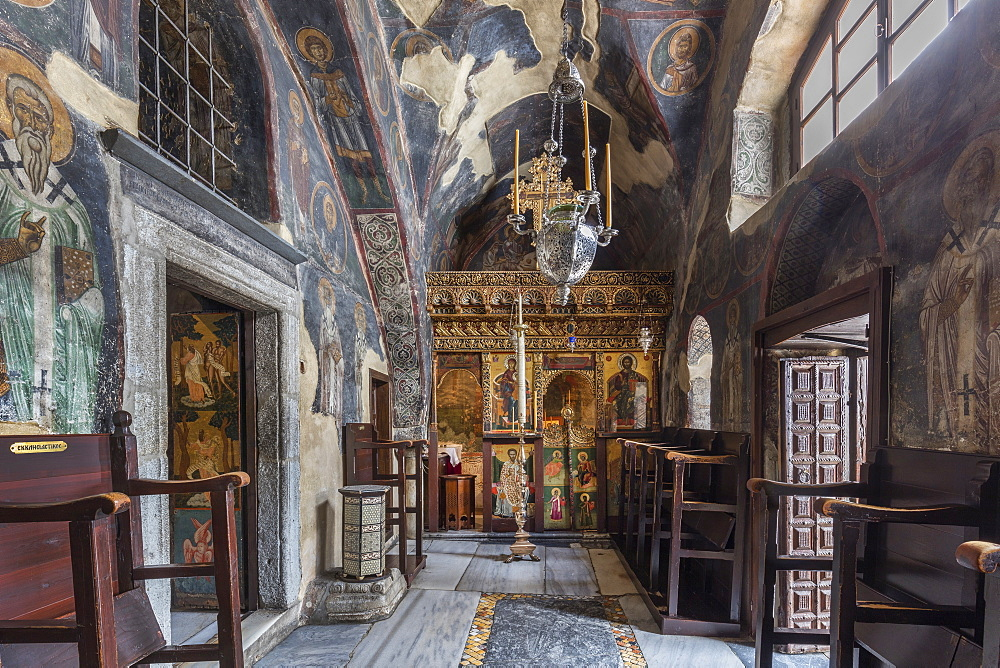 The Monastery of Saint John the Theologian, Our Lady's Chapel,Patmos, Greece