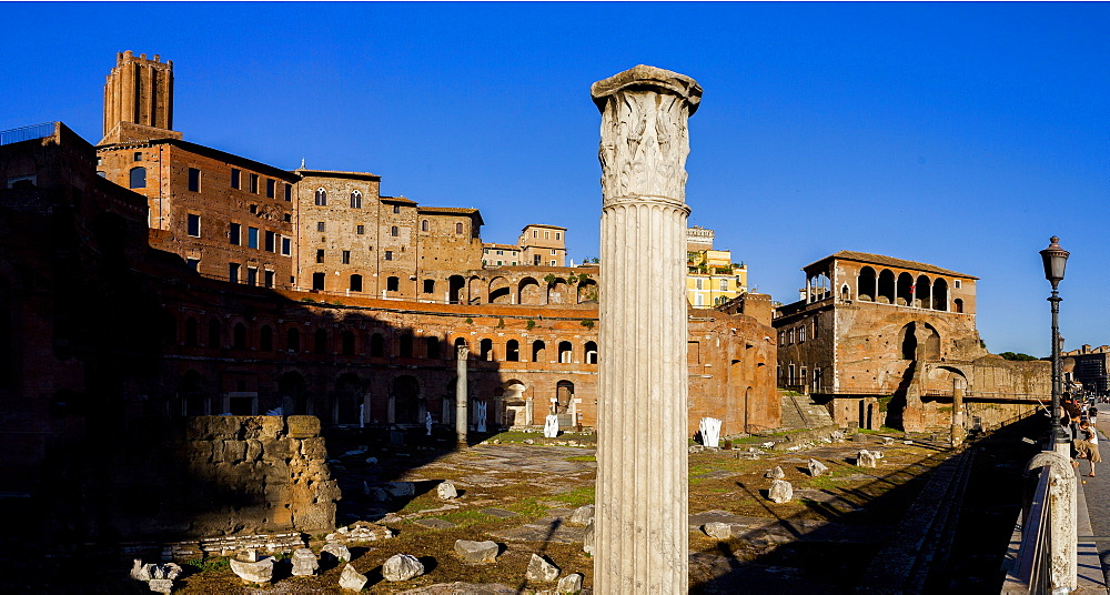 Foro Traiano (Trajan's Forum), UNESCO World Heritage Site, Rome, Lazio, Italy, Europe