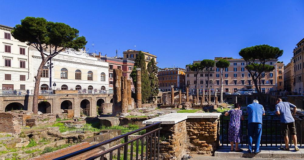Largo Torre Argentina, Rome, Lazio, Italy, Europe