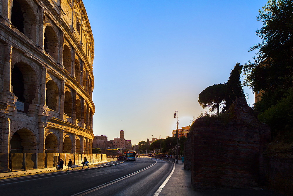 Colosseum, UNESCO World Heritage Site, Rome, Lazio, Italy, Europe