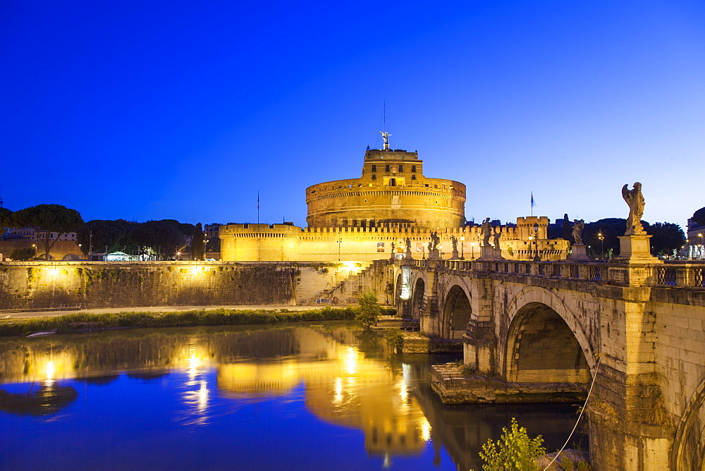 Castel Sant'Angelo, UNESCO World Heritage Site, Rome, Lazio, Italy, Europe