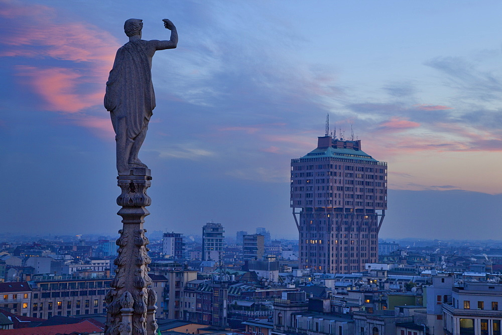 Torre Velasca, Milan, Lombardy, Italy, Europe