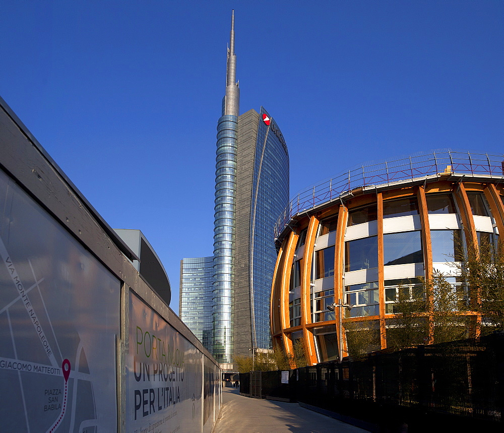 Unicredit Pavillon,Porta Nuova district,Milano, Lombardia, Italy