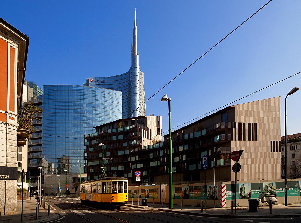 Porta Nuova district, Milan, Lombardy, Italy, Europe