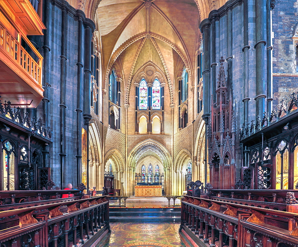 Chorus and Presbytery, The Christ Church, Dublin, Republic of Ireland, Europe
