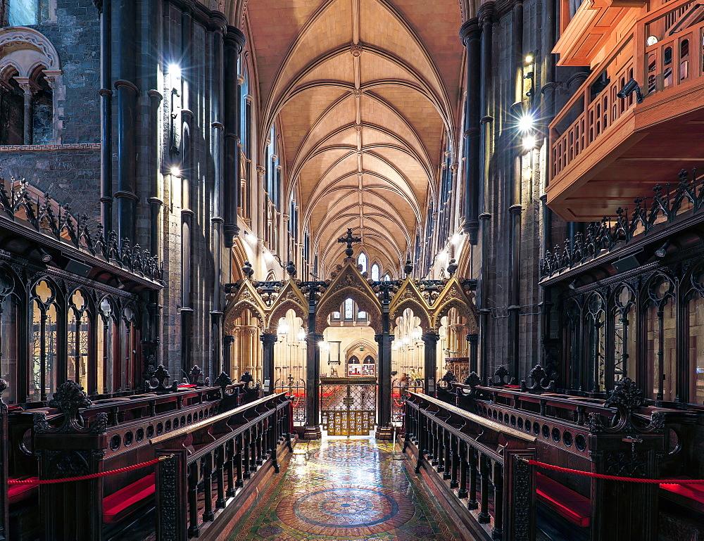 Chorus and Presbytery, Christ Church, Dublin, Republic of Ireland, Europe