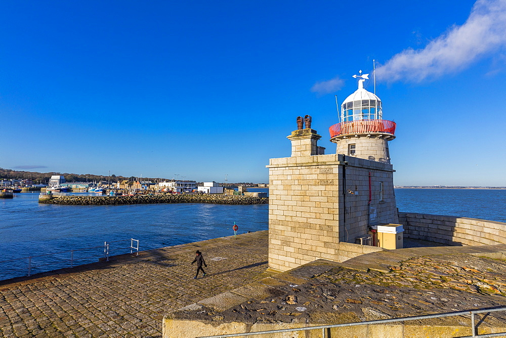 Howth Lighthouse, Howth, County Dublin, Leinster, Republic of Ireland, Europe