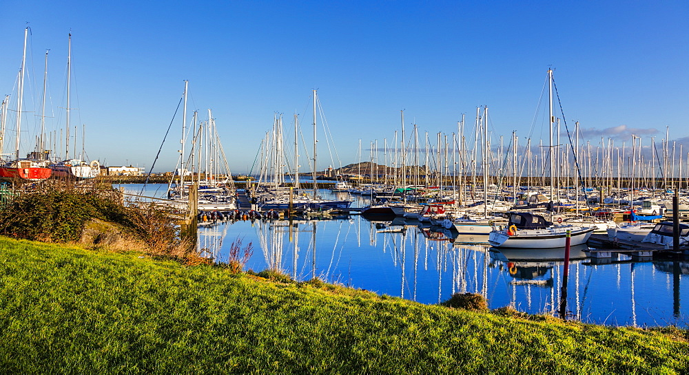 Howth Marina, Howth, County Dublin, Leinster, Republic of Ireland, Europe