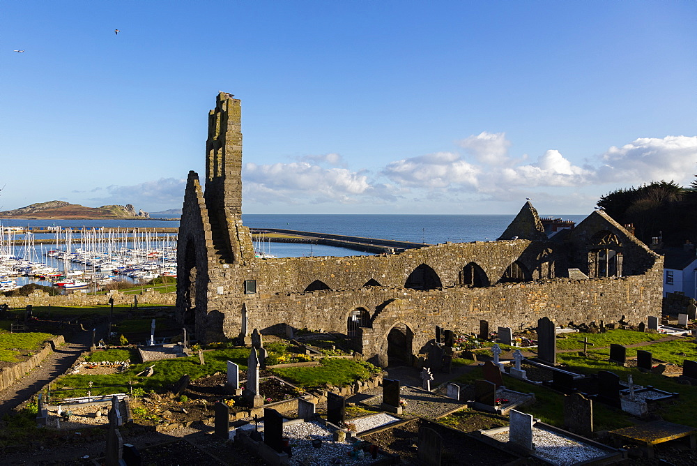 Old Abbey, Howth, County Dublin, Leinster, Republic of Ireland, Europe