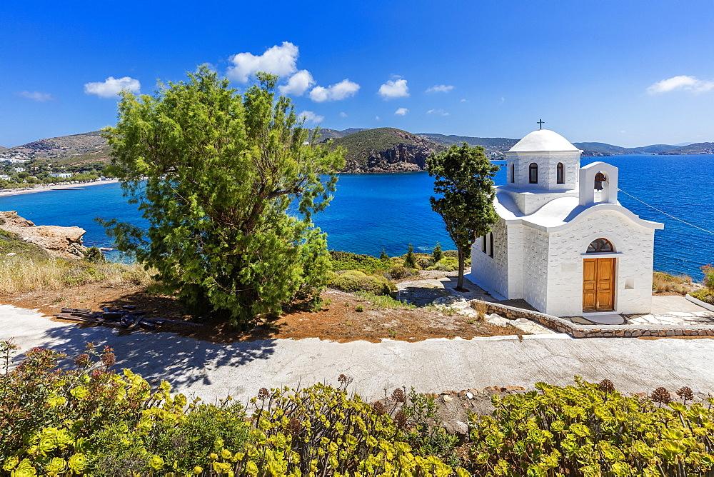 Kambos Beach, Patmos, Dodecanese, Greek Islands, Greece, Europe