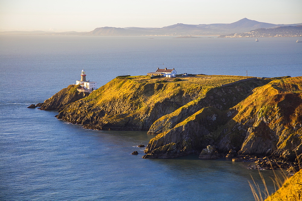 The Baily Lighthouse, Howth, County Dublin, Leinster, Republic of Ireland, Europe