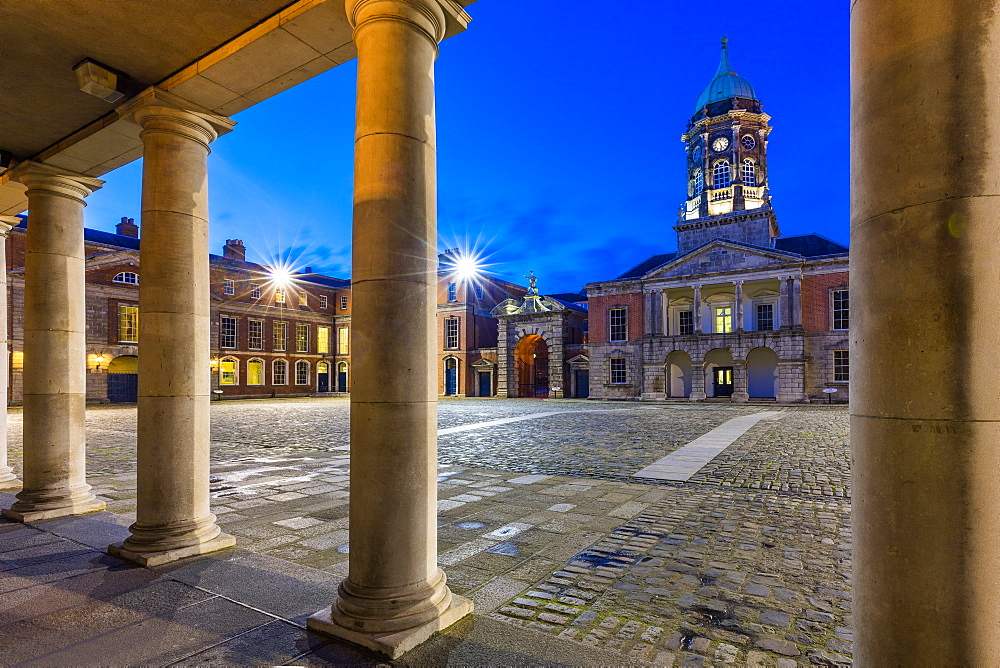 Dublin Castle, Dublin, Republic of Ireland, Europe