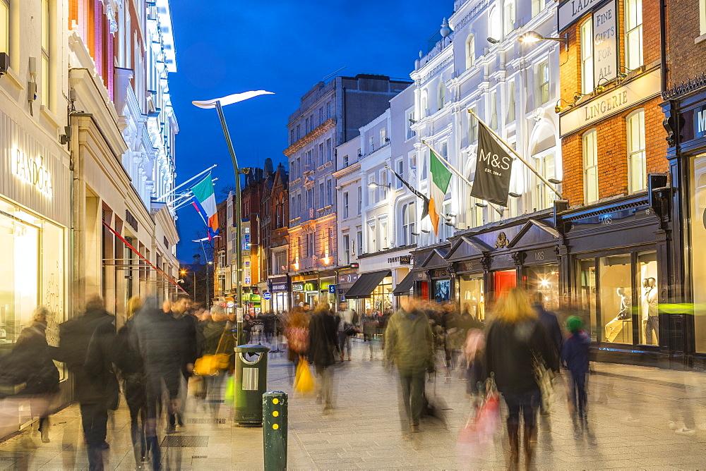 Grafton Street, Dublin, Republic of Ireland, Europe