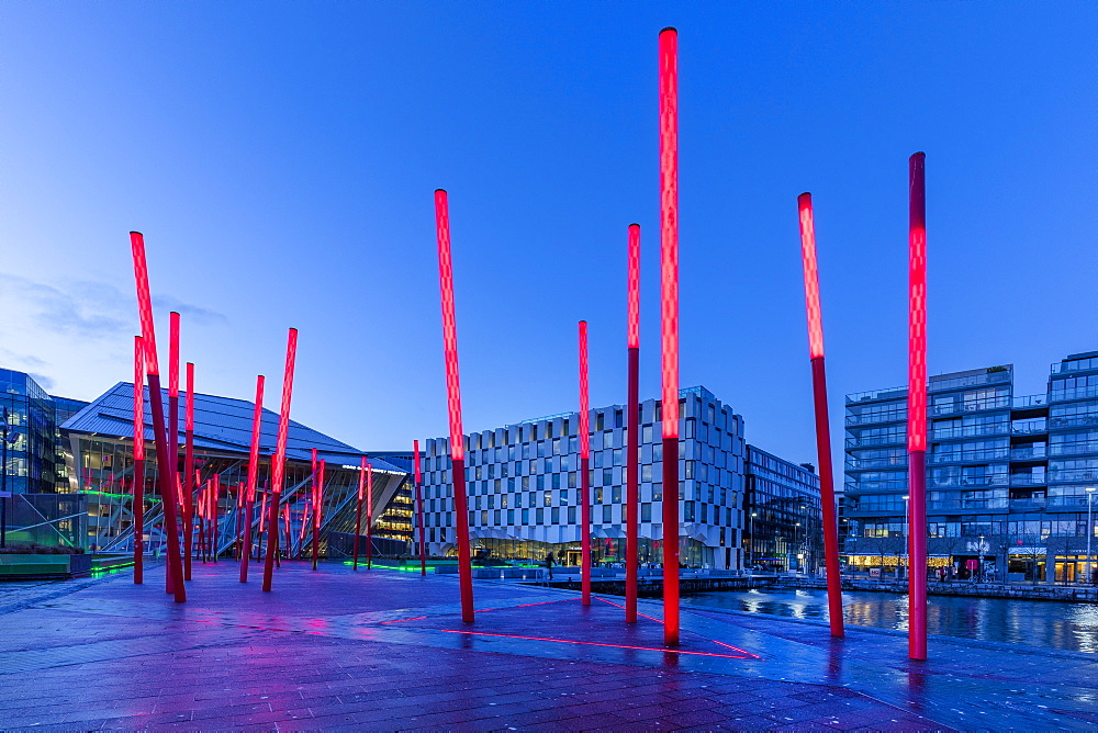 Grand Canal Square, Dublin, Republic of Ireland, Europe