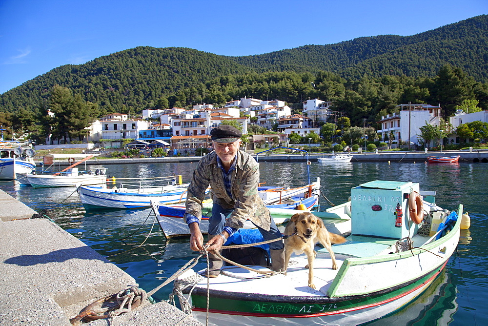 Elios, Skopelos, Sporades Island group, Greek Islands, Greece, Europe