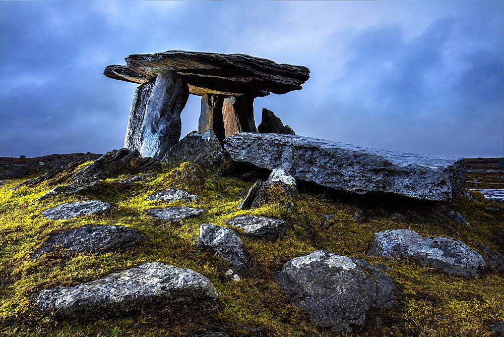Burren, Ireland, The Poulnabrone Dolmen