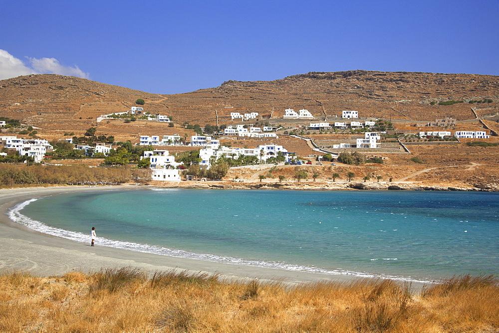 Agios Ioannis beach, Tinos Island, Cyclades, Greek Islands, Greece, Europe