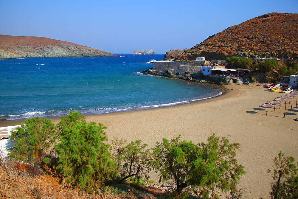 Kolimbithra beach, Tinos Island, Cyclades, Greek Islands, Greece, Europe