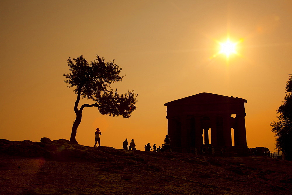 Valley of the Temples, Agrigento, UNESCO World Heritage Site, Sicily, Italy, Europe
