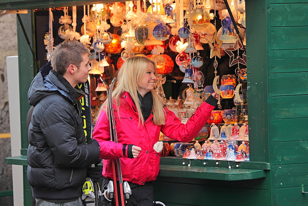 Innsbruck's Christmas markets, Innsbruck, Tyrol, Austria