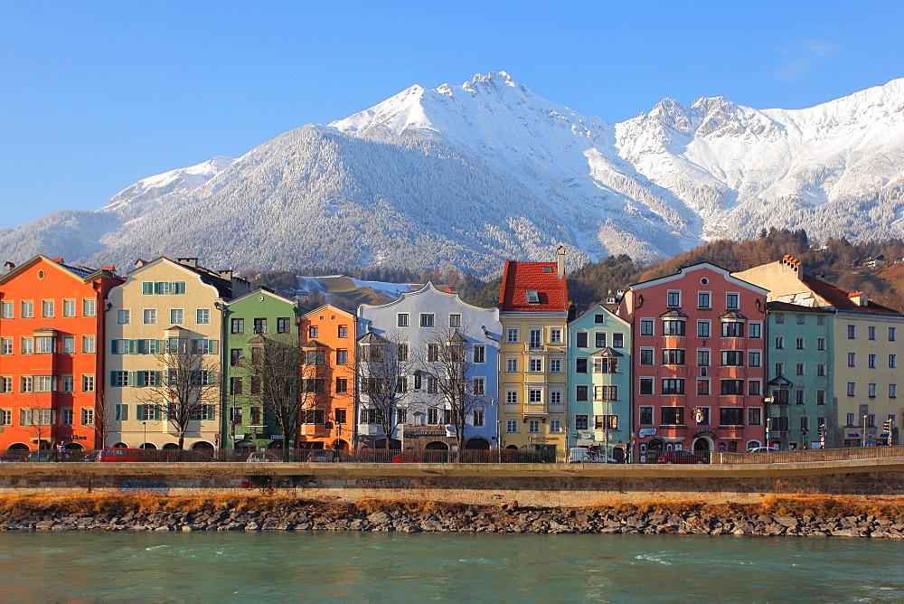 Mariahilf district, Innsbruck, Tyrol, Austria, Europe