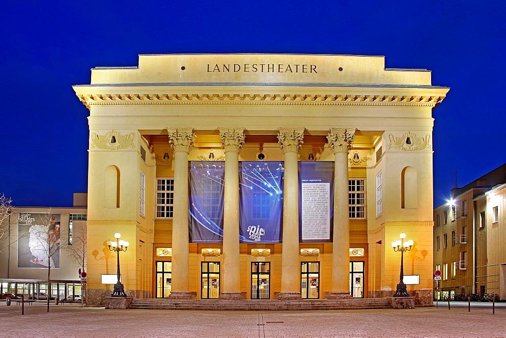 Tiroler Landestheater, Innsbruck, Tyrol, Austria, Europe