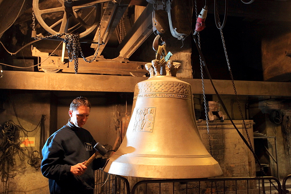 Grassmayr bell foundry, Innsbruck, Tyrol, Austria, Europe
