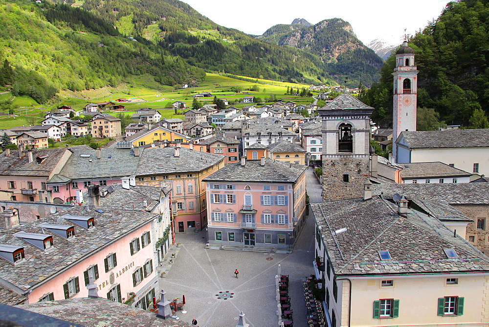 Poschiavo, Canton of Graubunden (Grigioni), Switzerland, Europe