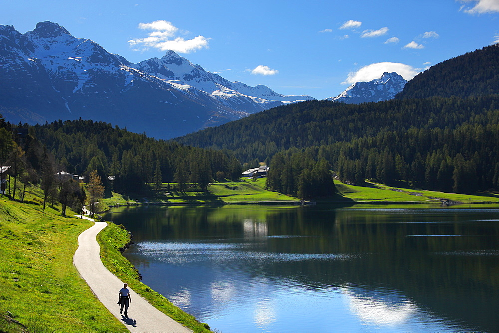 St. Moritz, Canton of Graubunden (Grigioni), Switzerland, Europe