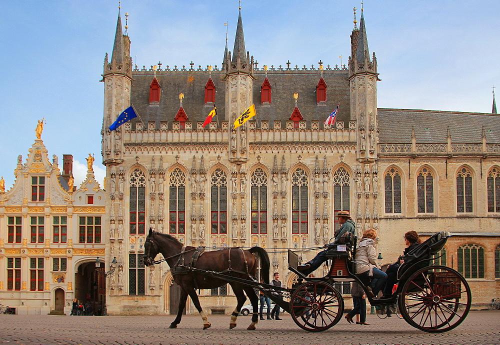 The Burg, Bruges, Flemish Region, West Flanders, Belgium