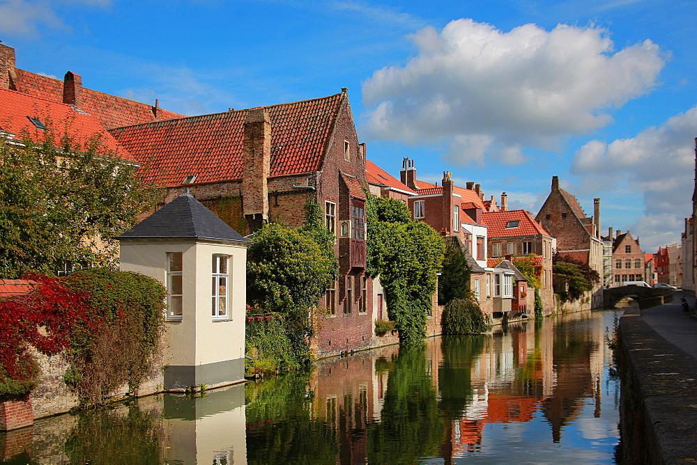Gouden-Handstraat, Bruges, Flemish Region, West Flanders, Belgium