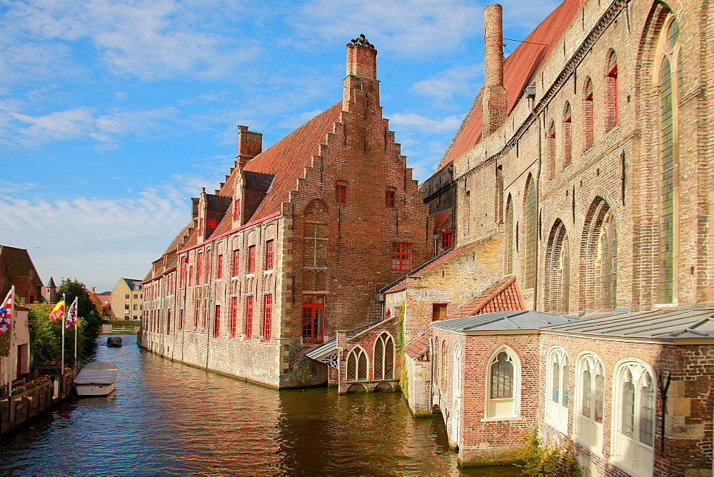 Old St. John's Hospital, Bruges, UNESCO World Heritage Site, Flemish Region, West Flanders, Belgium, Europe