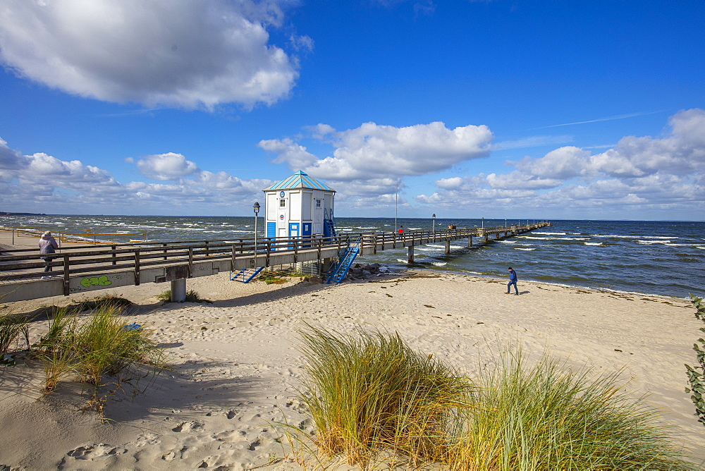 Seaside resort of Lubmin, Mecklenburg-Vorpommern, Germany