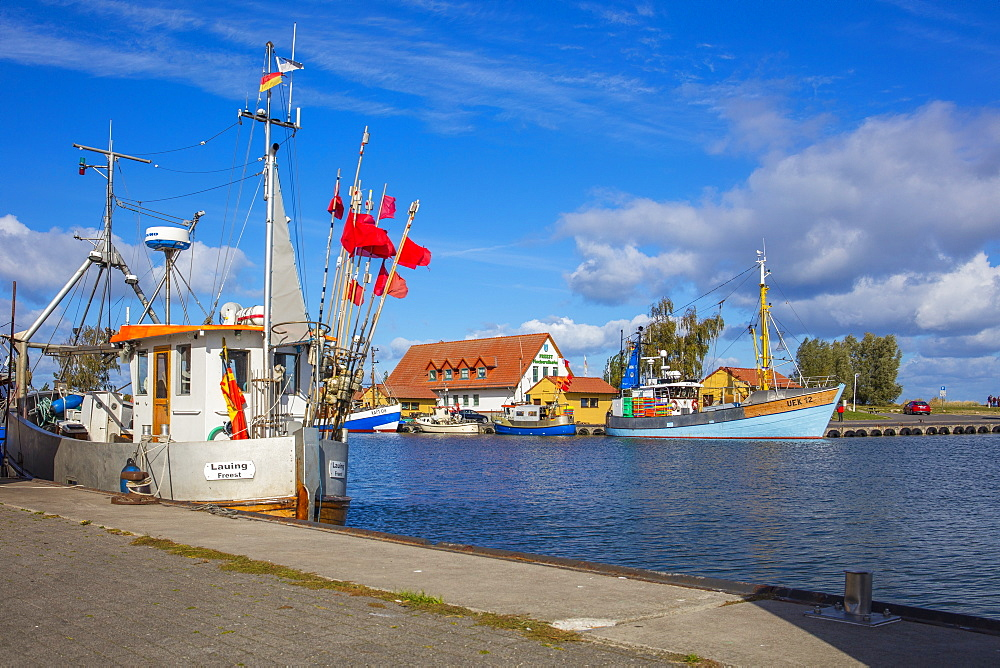 Fishing Harbor Freest, Mecklenburg-Vorpommern, Germany
