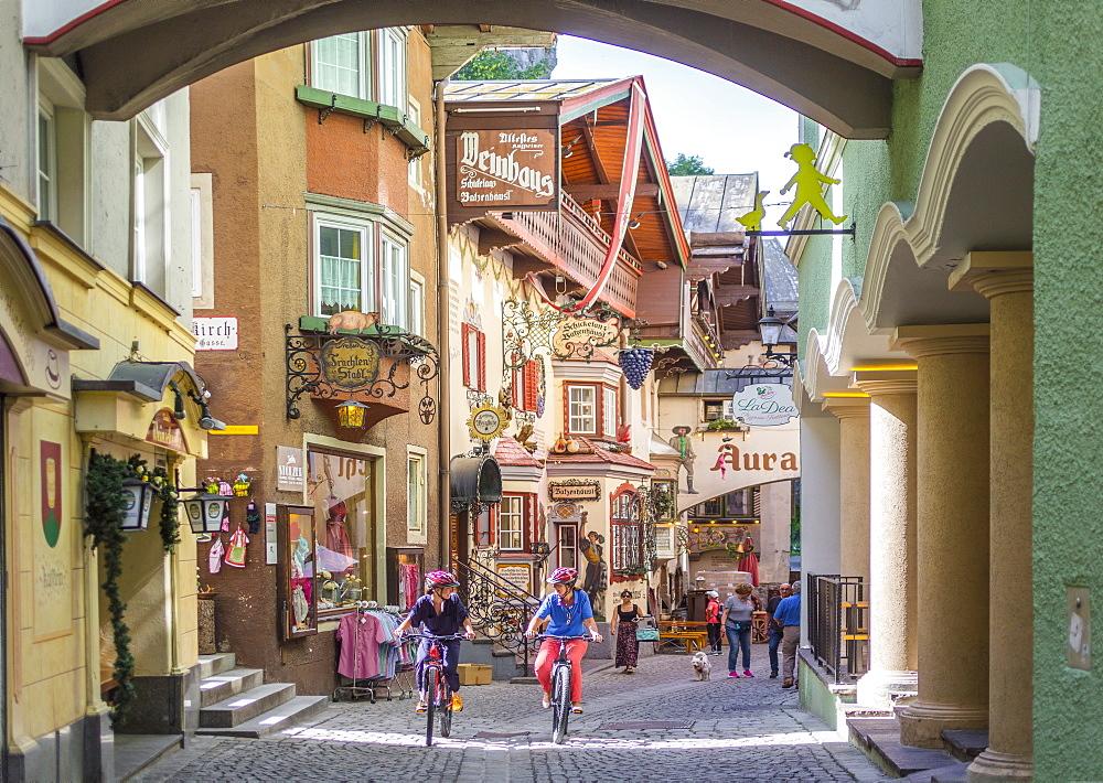 Romerhofgasse, Kufstein, Tyrol, Austria, Europe