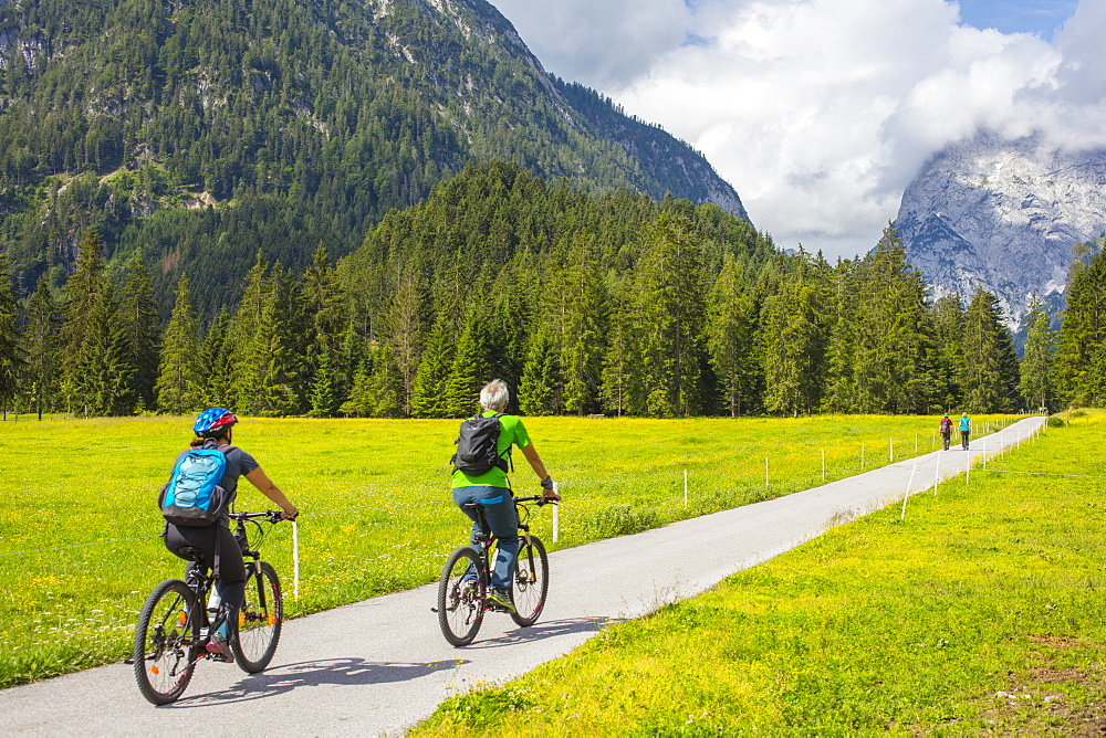 Karwendel Natural Park, Tyrol, Austria, Europe