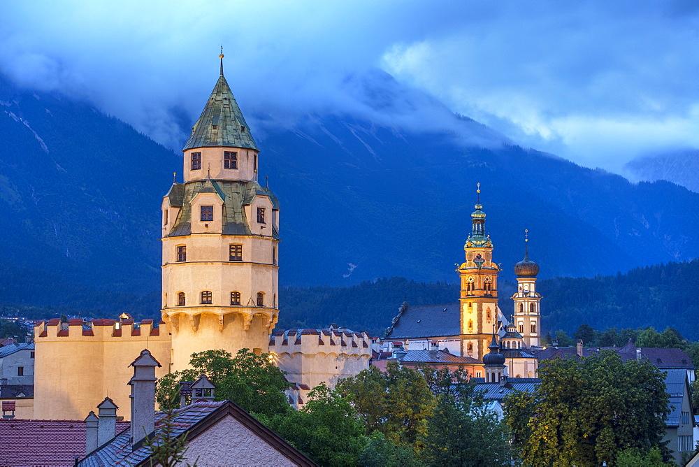 fortress of Burg Hasegg, Hall in Tirol, Tyrol, Austria - 1292-769