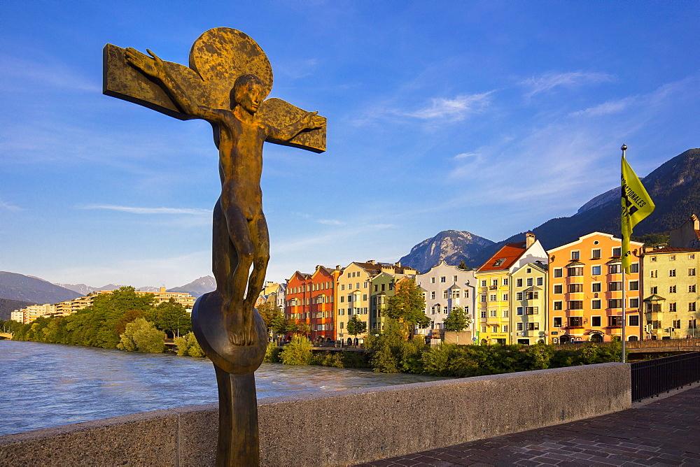 Inn River, Innsbruck, Tyrol, Austria, Europe