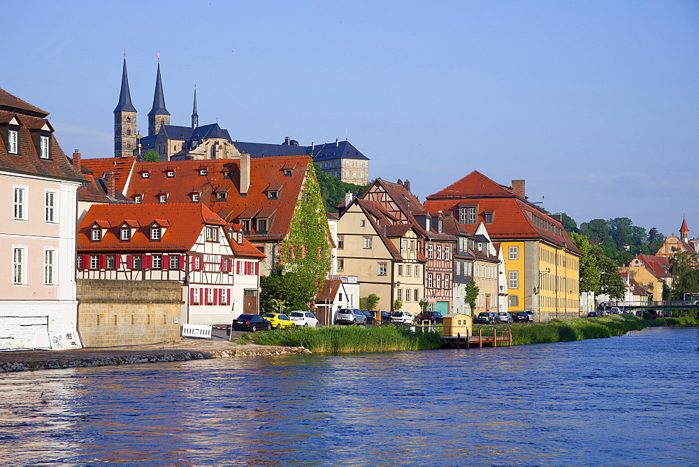 Surroundings of the old slaughterhouse, Bamberg, Bavaria, Germany