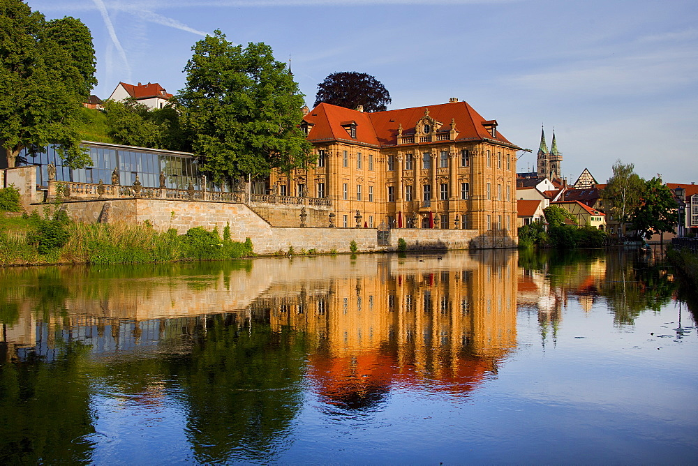 International Artists' House Villa Concordia, Bamberg, UNESCO World Heritage Site, Bavaria, Germany, Europe