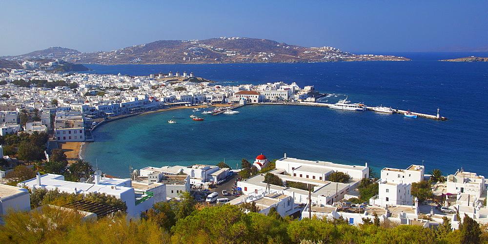 the port, Mykonos, South Aegean, Greece