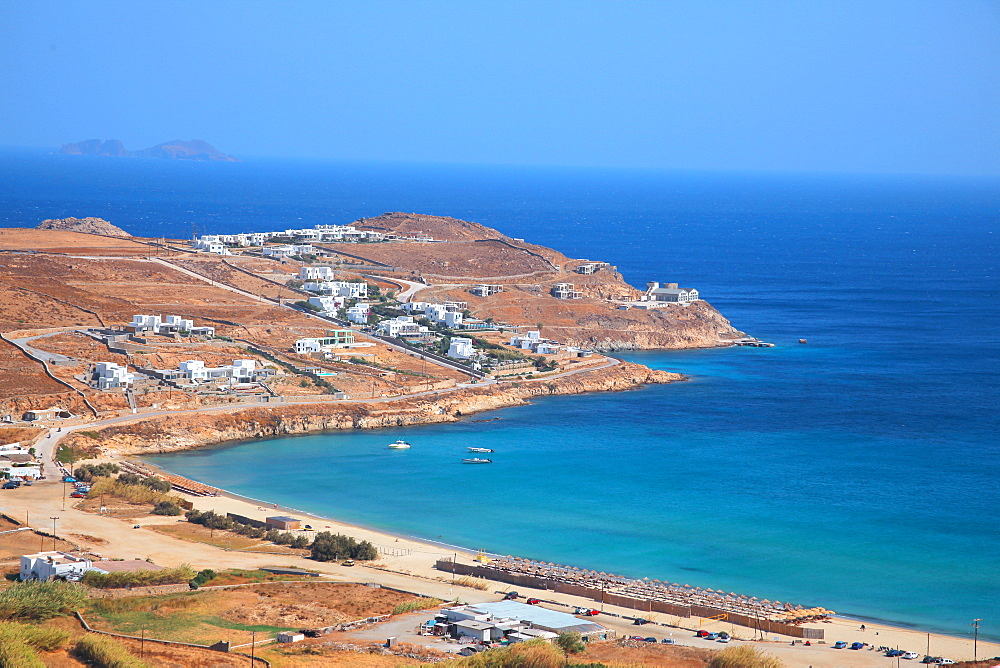Elia beach, Mykonos, Cyclades, South Aegean, Greek Islands, Greece, Europe