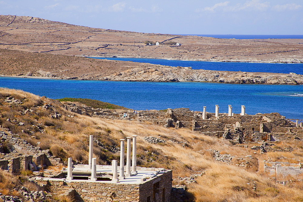 Delos Island, UNESCO World Heritage Site, South Aegean, Greek Islands, Greece, Europe