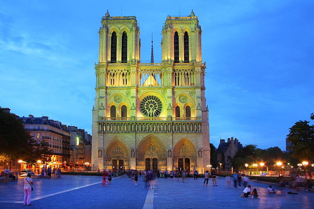 Notre Dame, UNESCO World Heritage Site, Paris, France, Europe