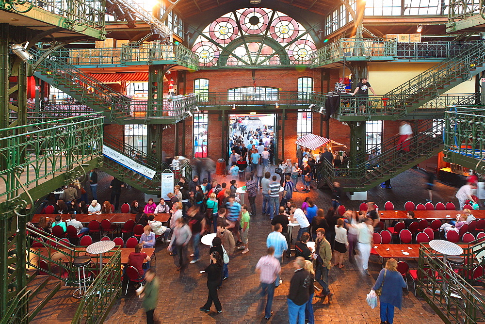Fischmarkt (Fish Market), Hamburg, Germany, Europe