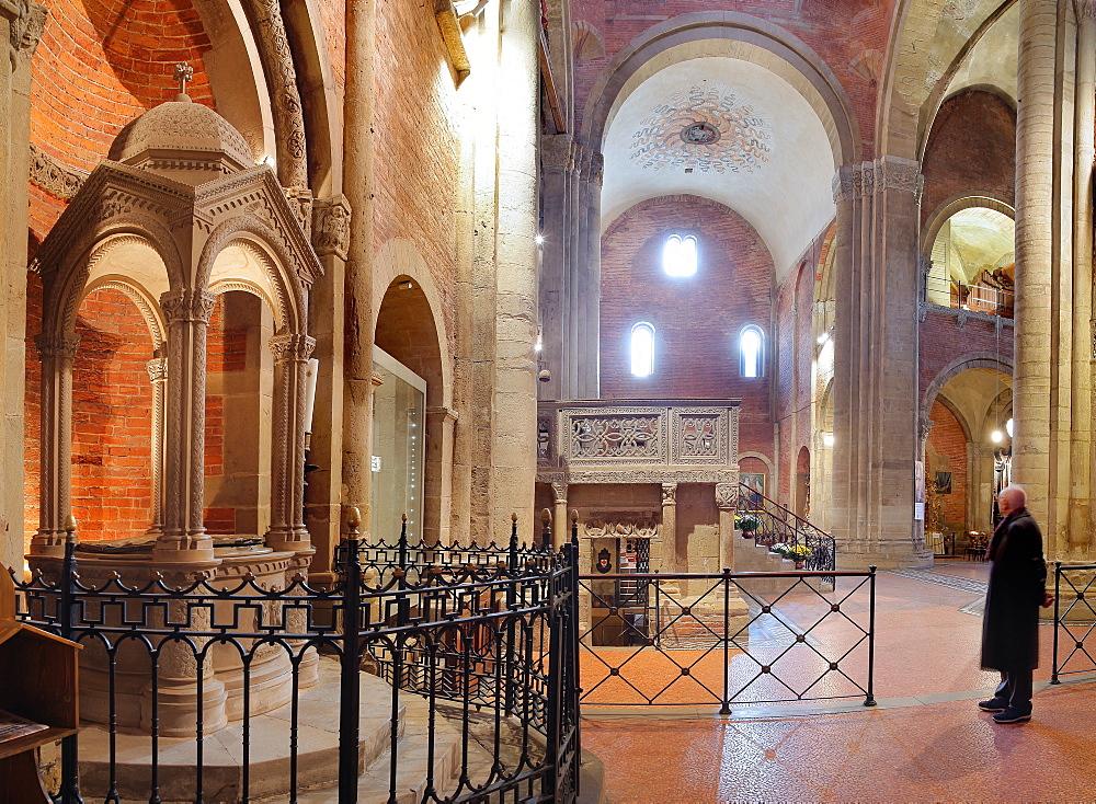 St. Michael (San Michele) church, Pavia, Lombardy, Italy, Europe