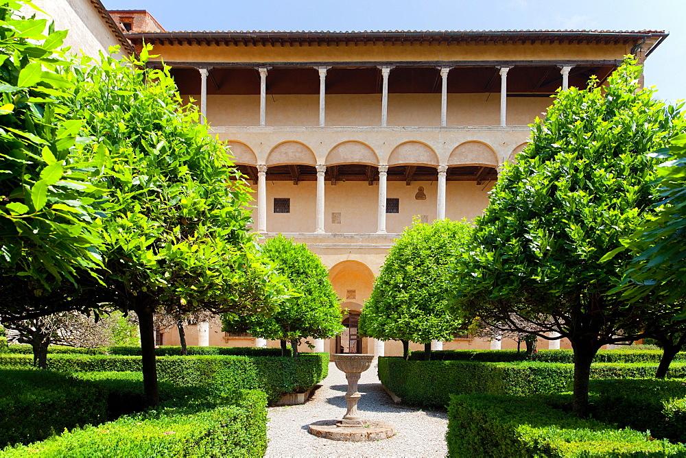 Palazzo Piccolomini, UNESCO World Heritage Site, Pienza, Tuscany, Italy, Europe