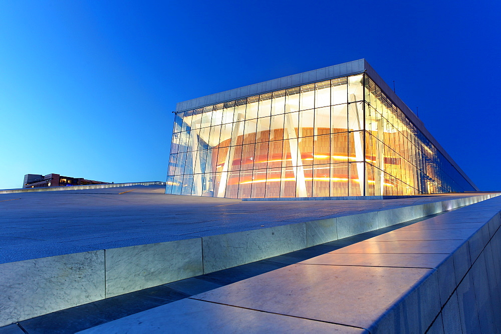 Oslo's Opera House, Oslo, Norway