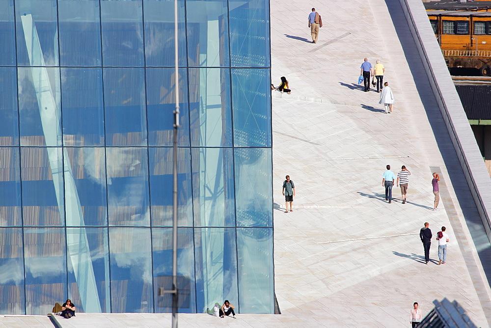 Oslo's Opera House, Oslo, Norway
